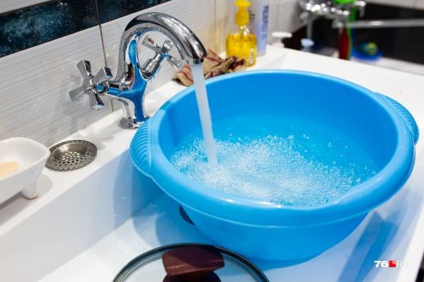 Из кранов ярославцев вместо горячей течет холодная вода