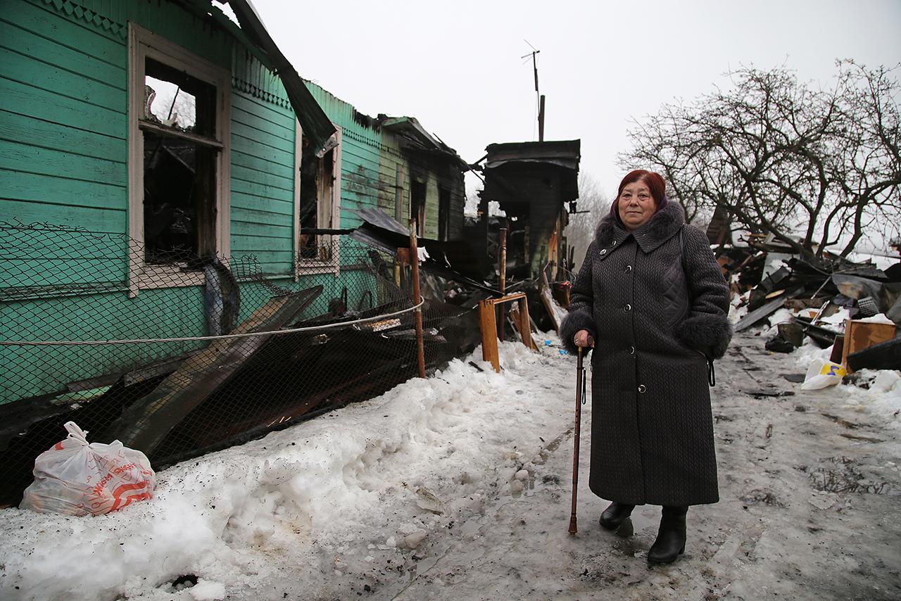глава семьи Анна Владимировна<br><br>автор фото Павел Каравашкин / «Фонтанка.ру»