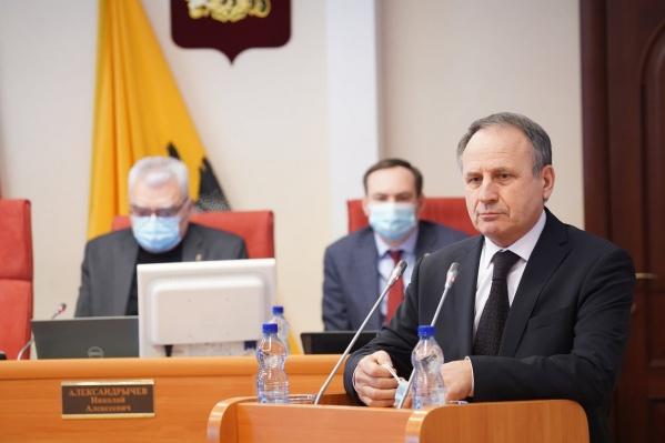 Михаил Боровицкий во второй раз стал спикером Ярославской облдумы