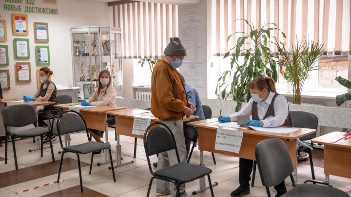 В Избирательной комиссии рассказали, сколько тюменцев проголосовали в первый день выборов