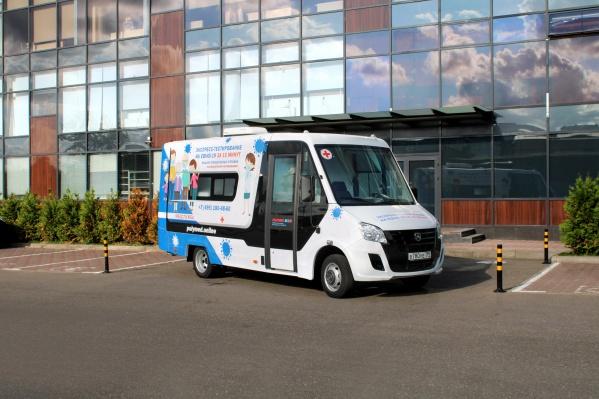 «Лаборатории на колесах» уже оказывают услуги в более чем 20 крупнейших городах России