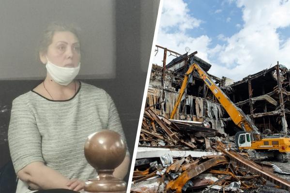 Одна из обвиняемых — Светлана Шенгерей. 13 октября в суде выступила ее адвокат