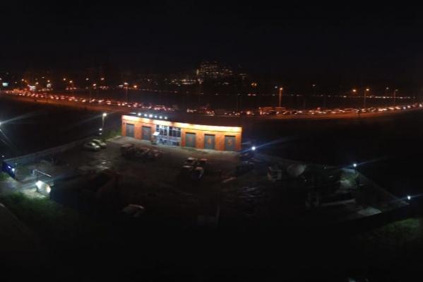 Так выглядит пересечение Советского шоссе и улицы Петухова