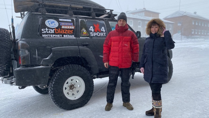 Трэвел-блогер посетил северный офис Сбера в ходе арктической экспедиции