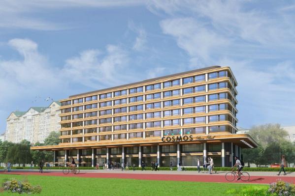 Первые два этажа новой гостиницы будут нежилыми