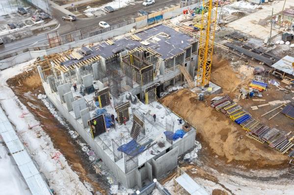 Четвертый дом сдадут во II квартале 2022 года