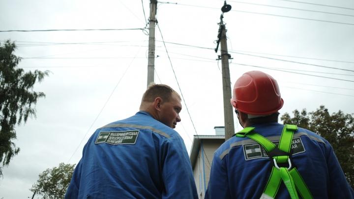 Стало известно, сколько жителей Екатеринбурга остались без света из-за массовой аварии