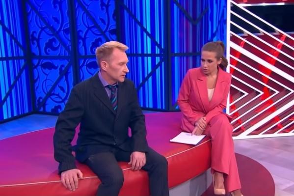 Андрей Галашев уже появлялся на телевидении, но героем шоу «Мужское/Женское» стал впервые