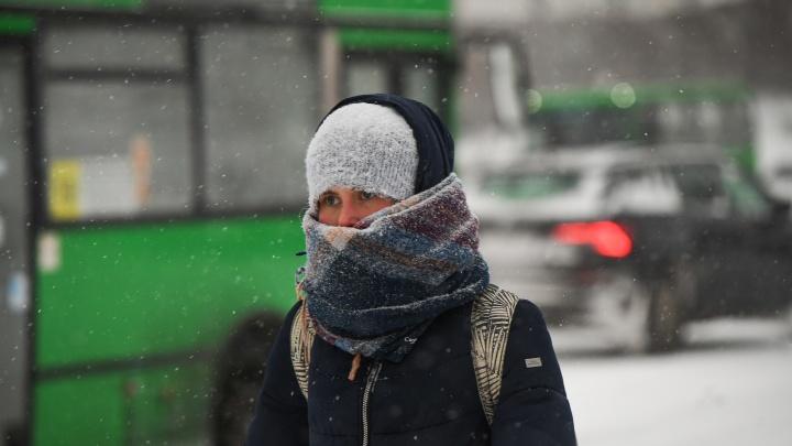 После оттепели на Урале пойдет сильный снег, а потом резко похолодает