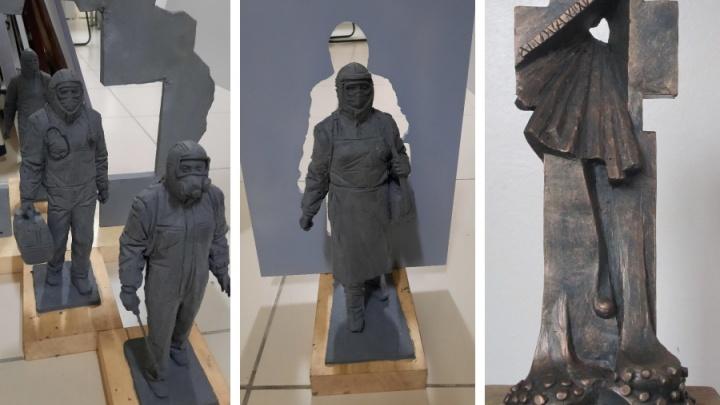 Даже в ковидарии не так страшно: кузбассовцы разнесли в пух и прах эскизы памятника врачам