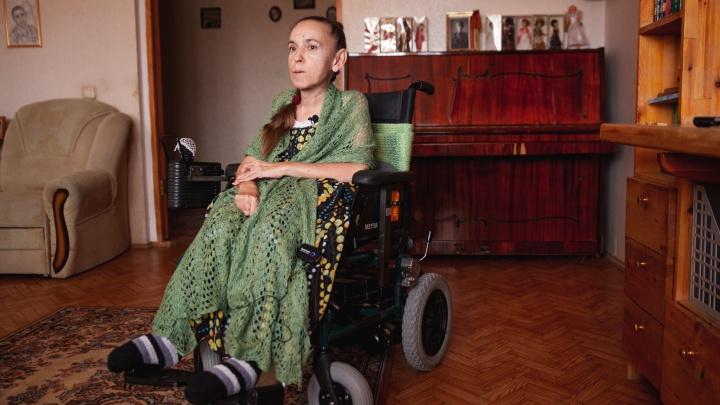Тюменские врачи отказали 53-летней тюменке со СМА в дорогом лекарстве. Считают, что ей оно уже не нужно
