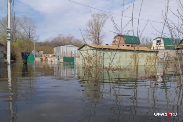 В Башкирии 149 домов оказались уже затоплены