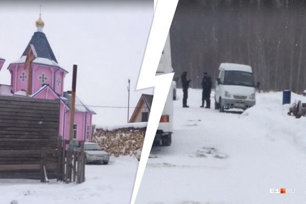 Сейчас до Новоселово можно добраться только по зимнику