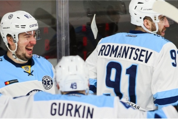 Игра проходила в Екатеринбурге