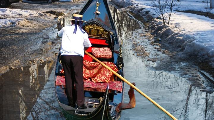 Готовь гондолу: как дорожные рабочие будут бороться с затопленным городом