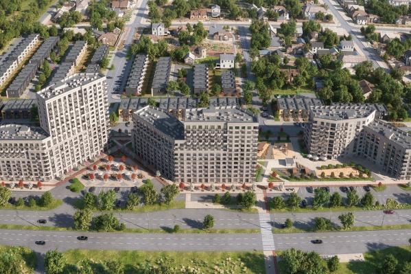 """Продажи квартир в первой очереди «Скандиа. <nobr class=""""_"""">В Комарово</nobr>» уже открыты"""