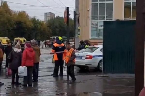 26 сентября полиция оцепила пермский автовокзал