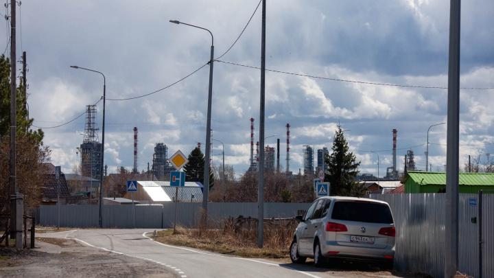 Люди поняли, что их окружают одни заводы. Как в промышленном кольце живет небольшой район Тюмени