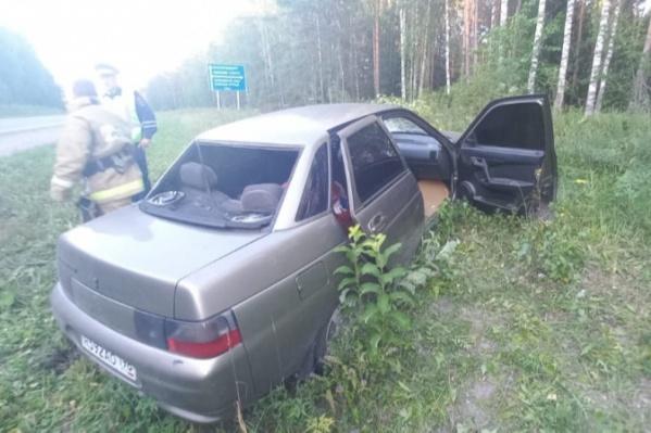 Автомобиль смертельно раненного Даниила Поповича съехал с дороги на обочину
