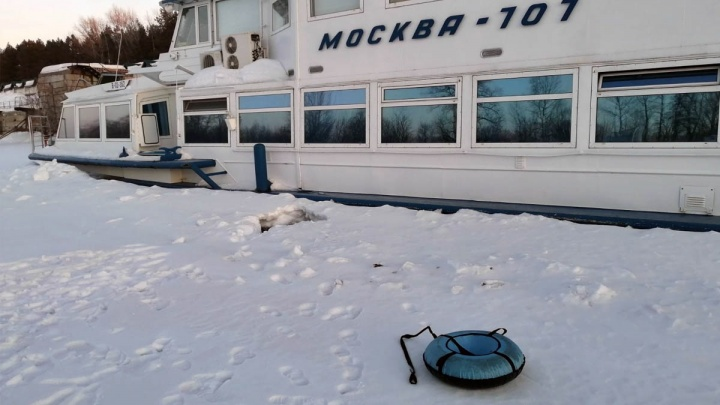 В Самарской области погибли бабушка с внуком, провалившись под лед