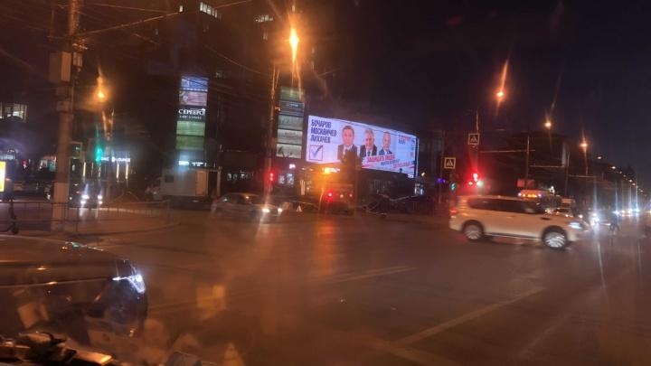Словно место заговоренное: в Волгограде в очередной раз лопнули трубы у Первой Продольной