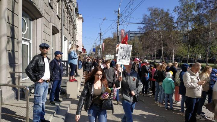 Новосибирск отпраздновал День Победы. Как это было