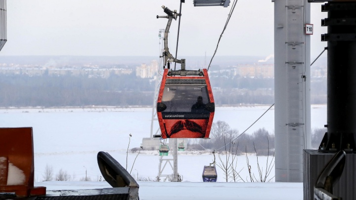 Канатная дорога на Бор прекратила работу из-за аномальных морозов