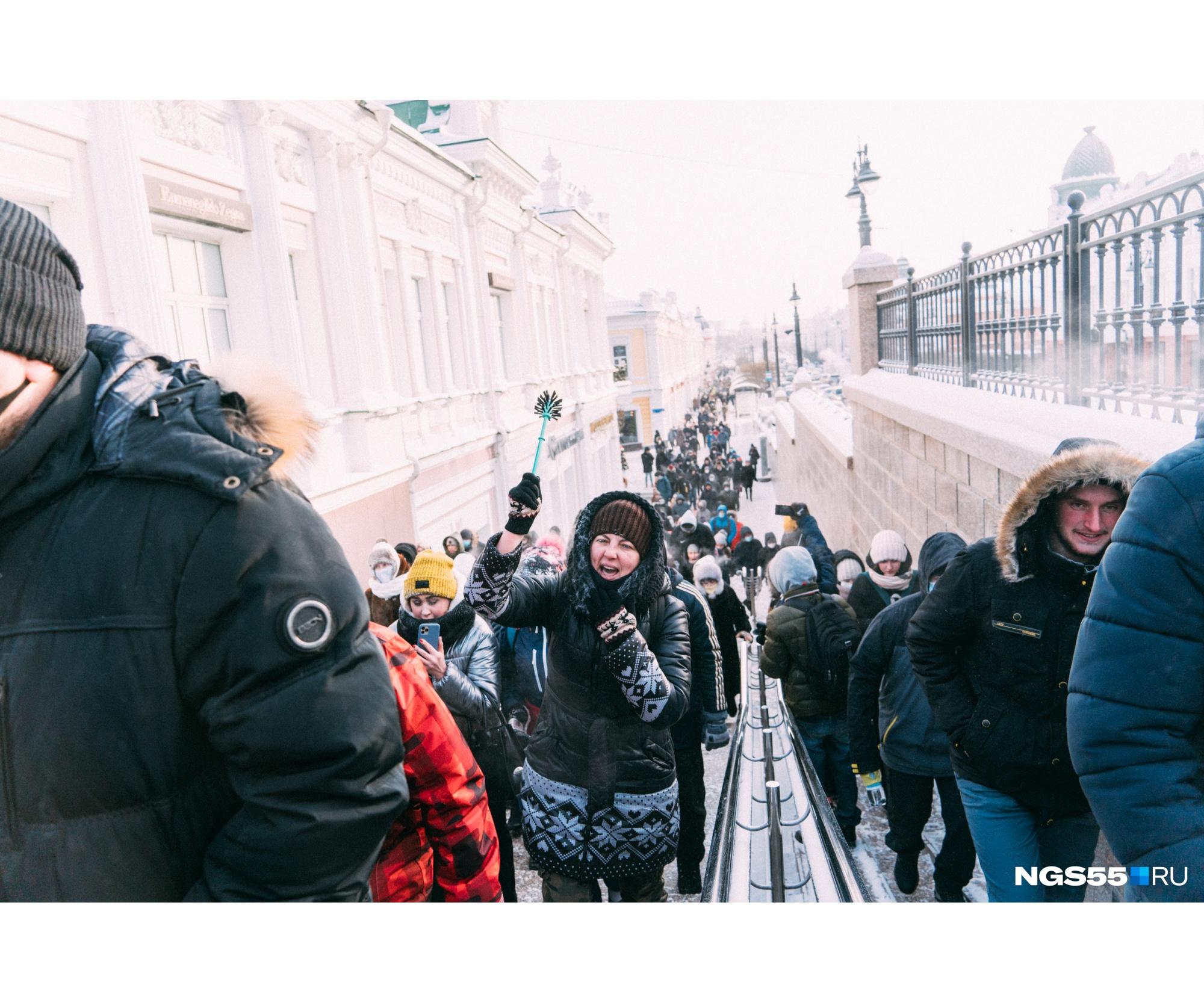 Одним из символов этого протеста во многих городах были ершики