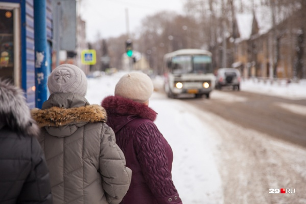 Чаще всего жители Архангельска говорят о малом количестве автобусов на маршрутах<br>