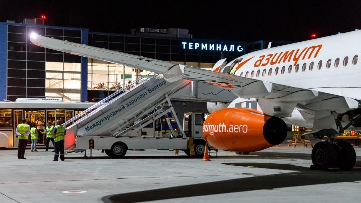 В Волгограде сломался самолет до Краснодара