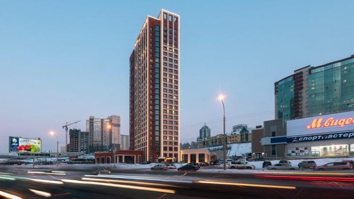 В новом центре реализуют проект квартальной застройки: особенно восхищает ночная подсветка зданий