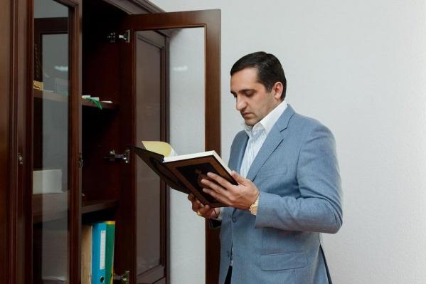 Намоев начал строительный бизнес в 2011 году