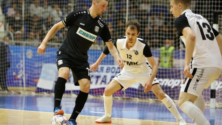 Екатеринбургская «Синара» стала чемпионом России по мини-футболу