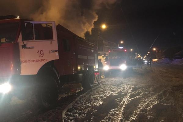 Пожар в частном доме произошел рано утром 7 марта