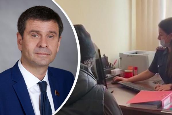 Руководителем КПРФ Андрей Новак стал зимой прошлого года