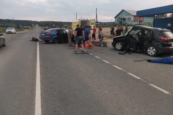 Авария случилась в 20:40 вблизи села Шангалы