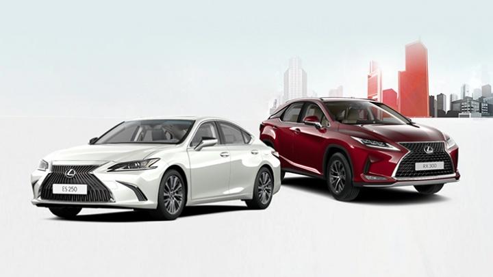 Время обновляться: в Красноярске приготовили специальные предложения на покупку LexusES и LexusRX