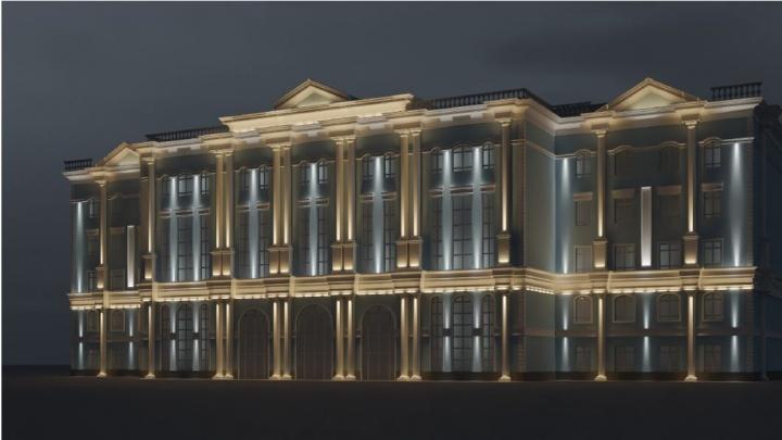 На месте снесенного корпуса ТюмГУ в центре Тюмени появится новый. Вот как он будет выглядеть