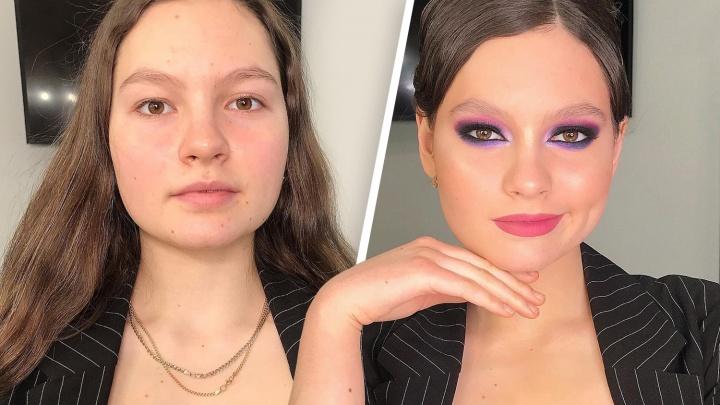 Идут на хитрости: самарские визажисты показали, как девушки меняют черты лица без пластики