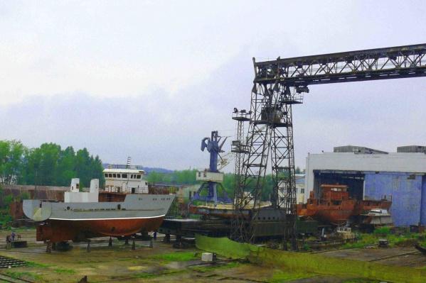 Верхнекамскому судостроительному заводу девяносто лет