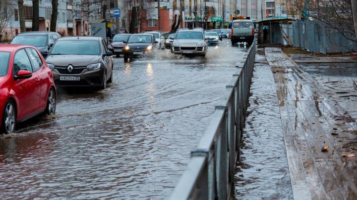 Стрим 29.RU: центр Архангельска затопило из-за аварии
