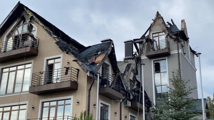 Депутат заксобрания рассказал об ущербе от пожара в отеле на Увильдах, в который ударила молния