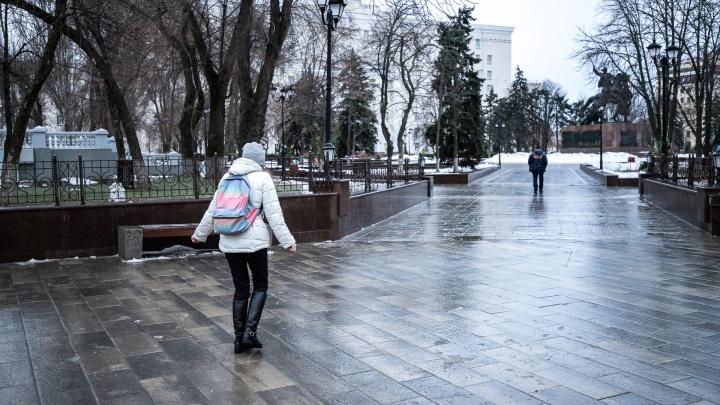 Гололед и сильный ветер: в Ростове резко похолодает