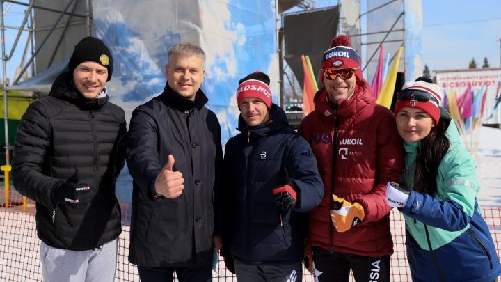 Объединили и любителей, и звезд: как в Чусовом проходил фестиваль лыжного спорта