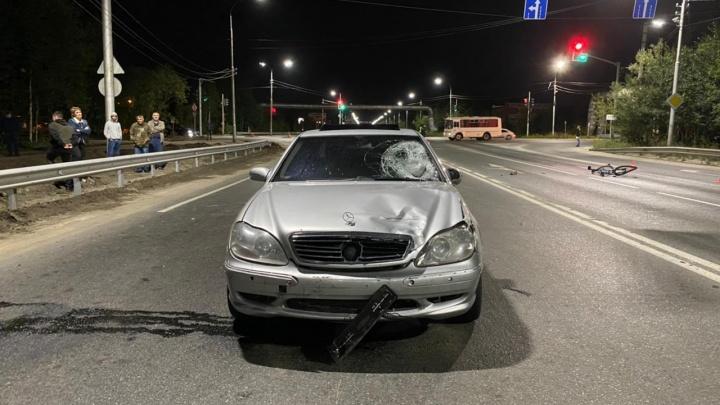 В Сургуте водитель «Мерседеса» насмерть сбил велосипедиста