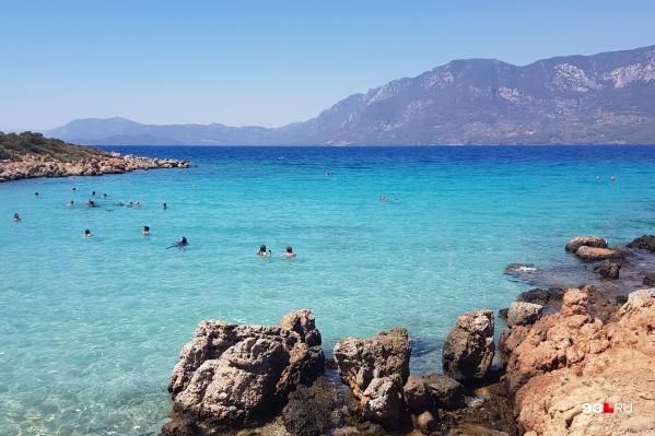 Остров Седир в Турции, на котором, по преданию, любила проводить время Клеопатра