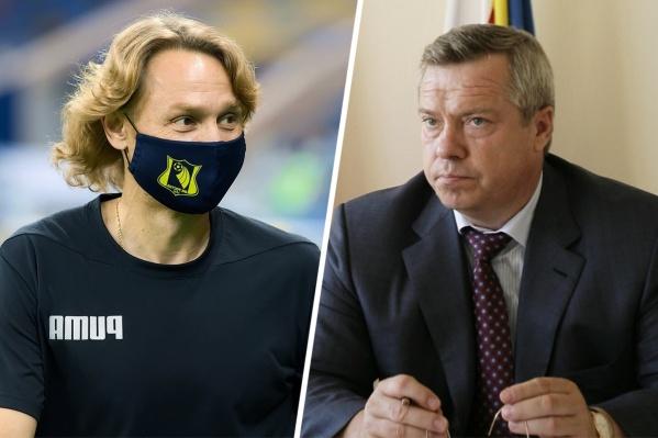 Валерий Карпин и Василий Голубев на этой неделе были в центре внимания