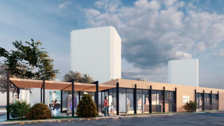 У крупного торгового центра в Ярославле хотят построить выставочный зал: смотрим проект