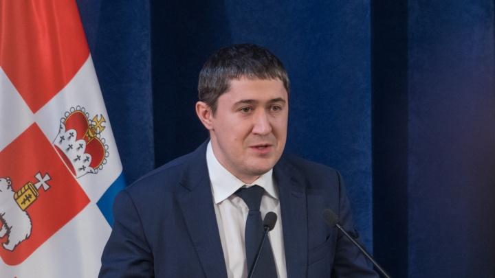 Дмитрий Махонин отказался от места в Госдуме