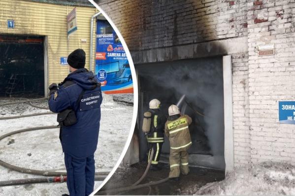 Судьба троих пожарных неизвестна